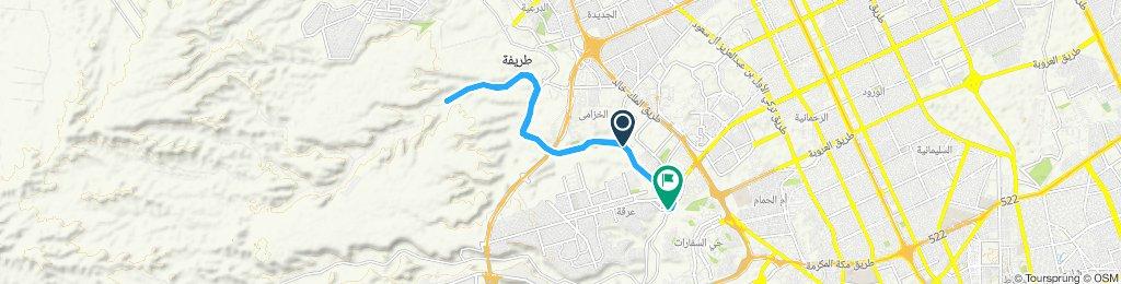 Sporty route in الرياض