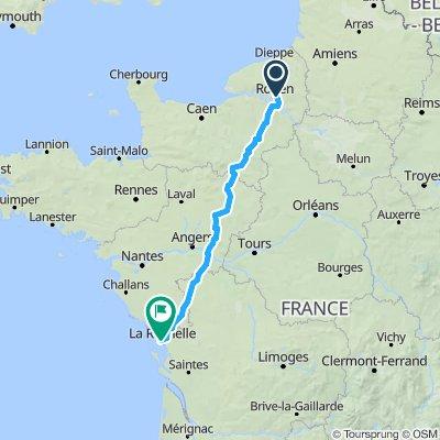 Route stable en La Rochelle