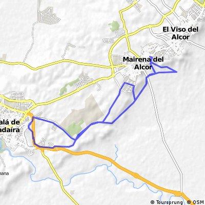 MAIRENA-GANDUL-ALCALA-CARCEL-GANDUL-MAIRENA