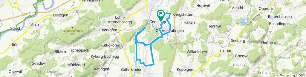 Entspannende Route in Gerlafingen