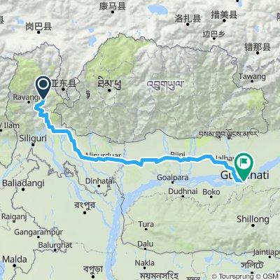 Teil11 Gangtok - Guwahati