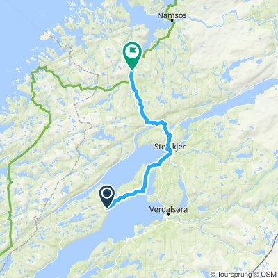 Etappe 14 : Mosvik-Sjoåsen
