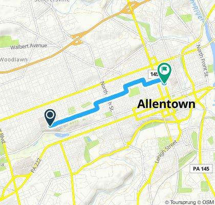 Fast ride in Allentown