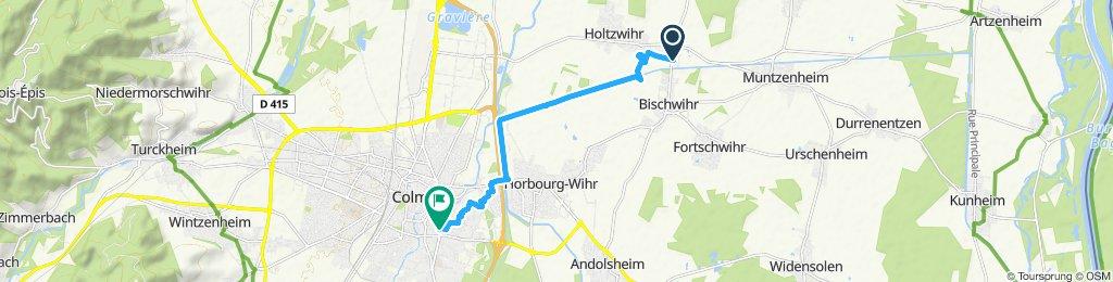Itinéraire reposant en Colmar