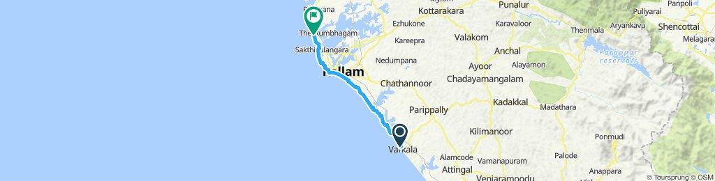 Restful ride in Kollam