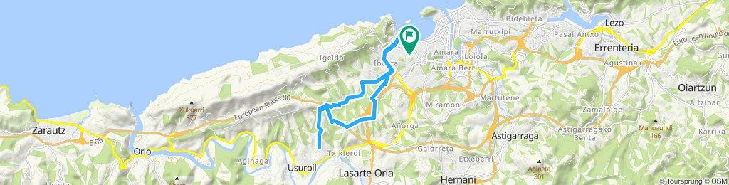 Paseo rápido en Donostia-San Sebastian
