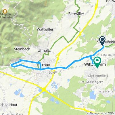 Itinéraire modéré en Staffelfelden