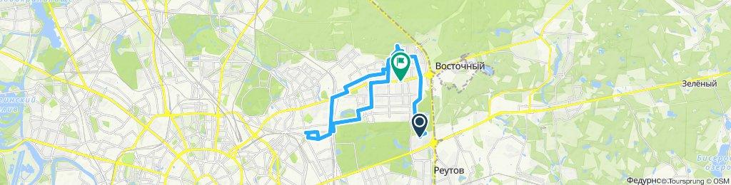 Велоездки позднеосенние Измайлово - Гольяново - Соколиная Гора (с возвратами) 26 11 2019