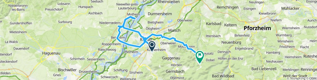 Blistering ride in Bad Herrenalb