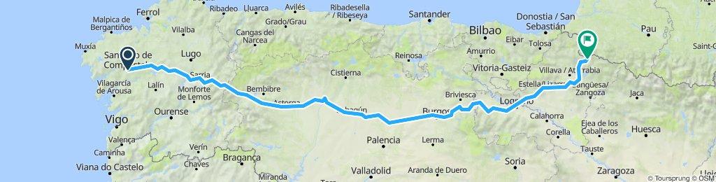 Van Faro naar Mont Saint MIchel deel 2
