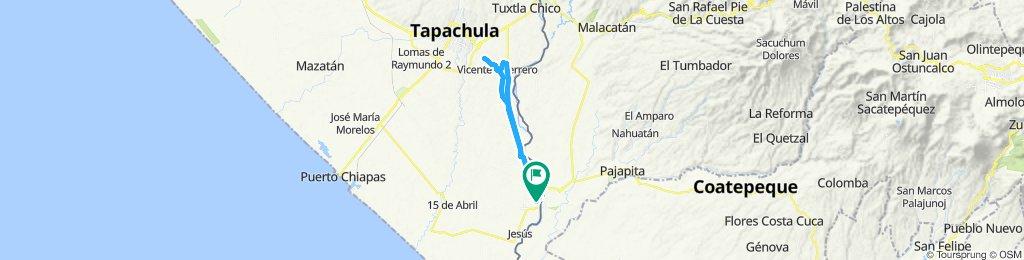 Ruta supersónica en Ciudad Hidalgo