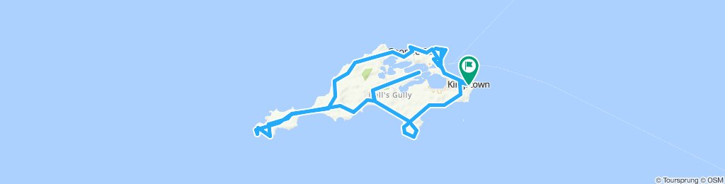 Moderate route in Rottnest Island