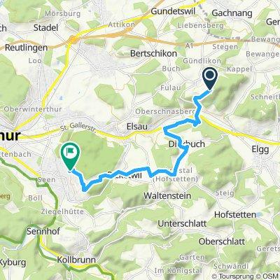 Überschallgeschwindigkeitsfahrt in Winterthur