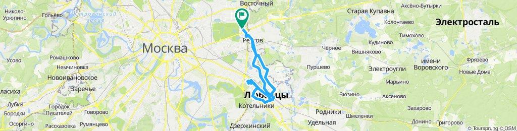 Осенние околонулевые велоездки Люберцы-Жулебино (с возвратом) 27 11 2019