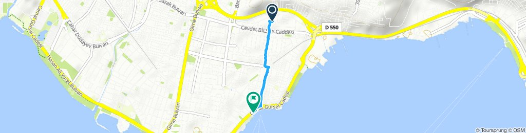 Moderate route in Karşıyaka