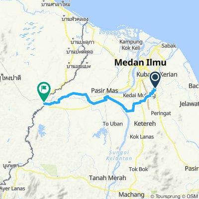 Easy ride in Rantau Panjang