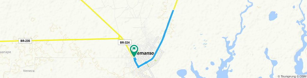 Remanso - BR 235 ( Casa Nova) 10KM