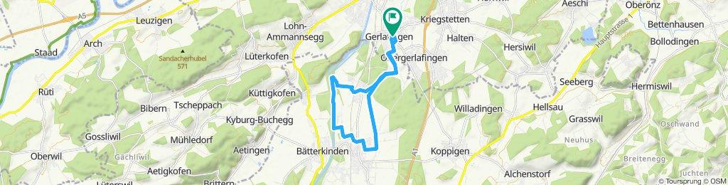 Moderate Route in Gerlafingen