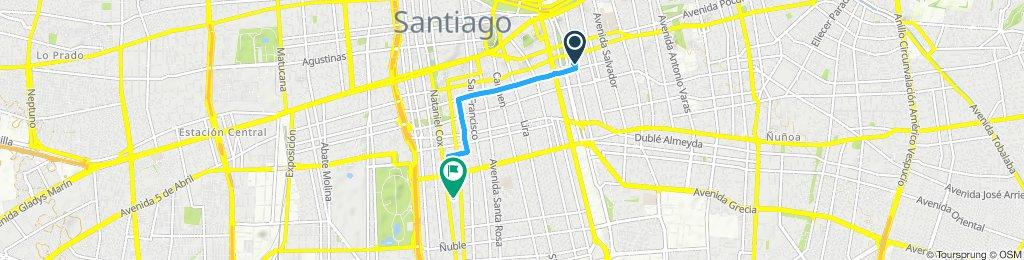 Ruta tranquila en Santiago