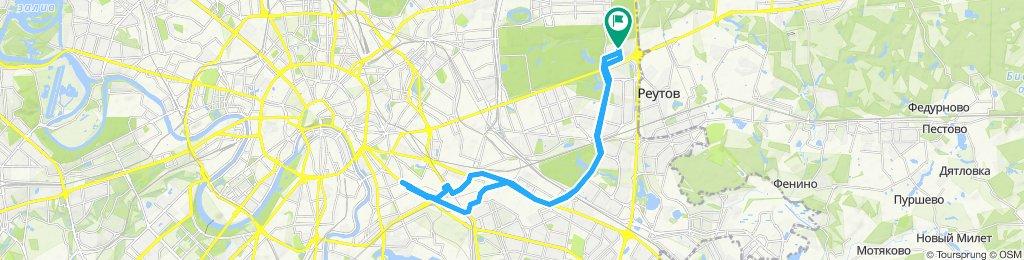 Осенние теплые ноябрьские велоездки Рязанка-Волгоградка 29 11 2019