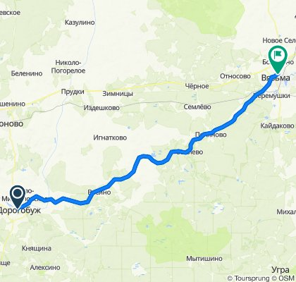 50  Dorogobuzh-Wjasma 85km