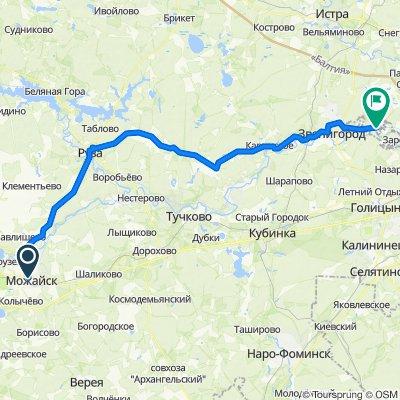 53 Mozhaisk-Аксиньино 87km