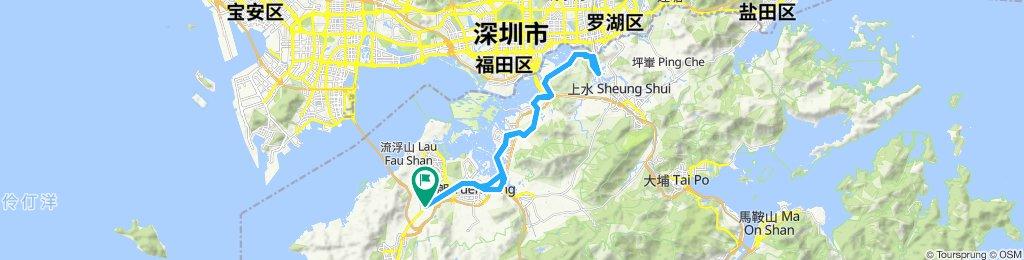 Yuen Long Kau Hui Cycling