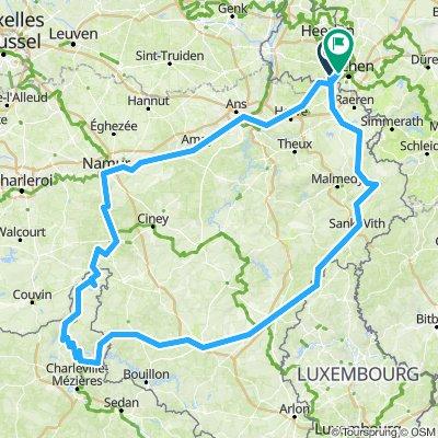 Wyprawa rowerowa - Benelux 2020