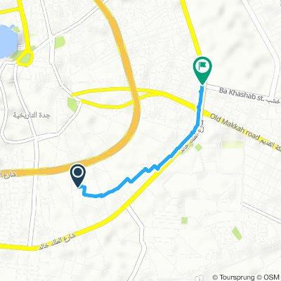 Restful route in جدّة