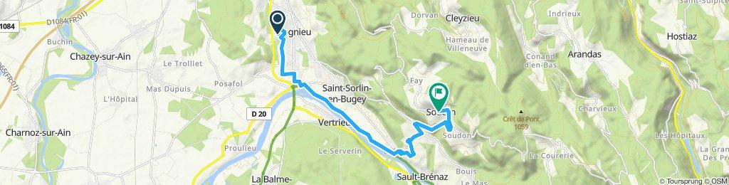 Itinéraire modéré en Souclin
