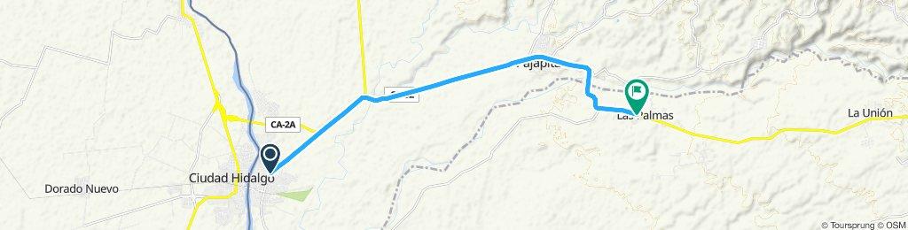 Ruta relajada en Coatepeque