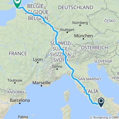 france to naples
