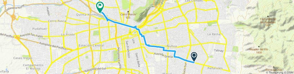 Ruta moderada en Renca