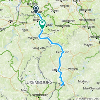 Aachen-VBahn-QVenn-Kyll-Trier