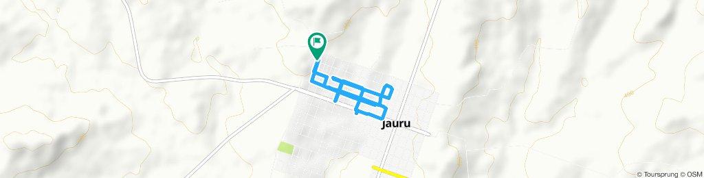Rota urbana de Jauru
