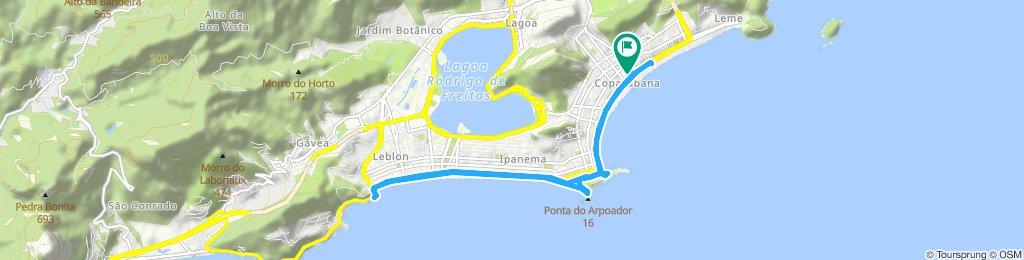 Rota constante em Rio de Janeiro