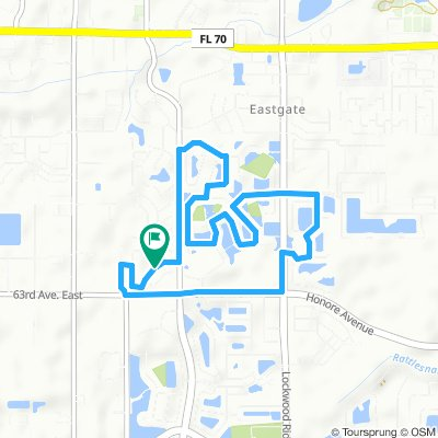 Workout route