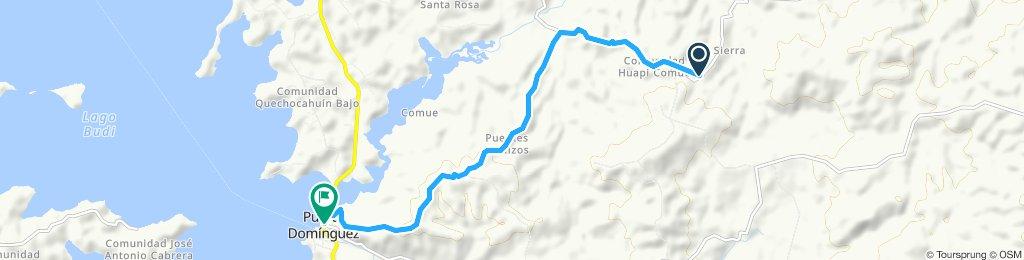 Ruta relajada en Puerto Domínguez
