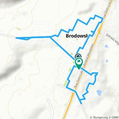 Caminhada lenta Brodowski