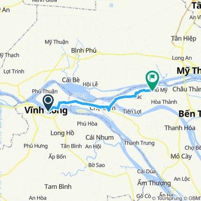 Vinh Long nach Forever Green Resort