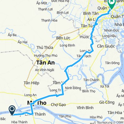 Forever Green Resort nach HCMC