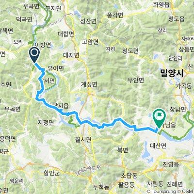 Easy ride in Miryang