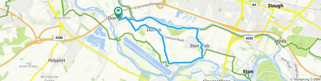 Slow ride in Maidenhead