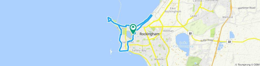 Cracking ride in Rockingham
