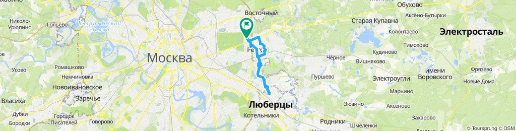 Зимние оттепельные велоездки слякотные Новокосино-Люберцы-Реутов 05 12 2019