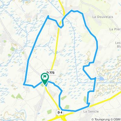Tour pommeraie / ferdenais / morandais / voie F