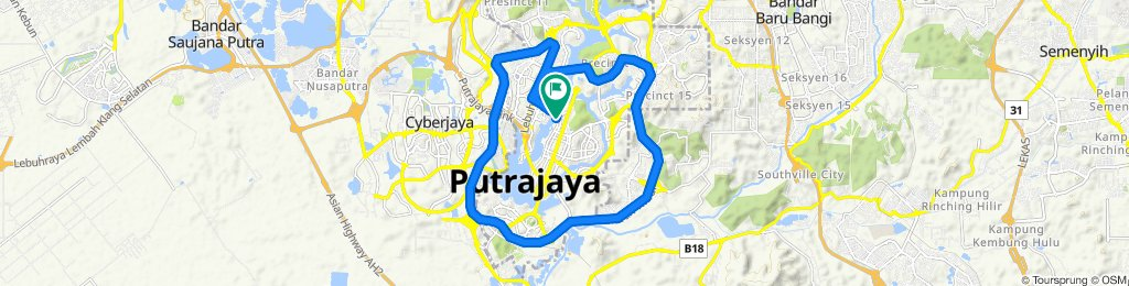 Putrajaya loop 30km - McD