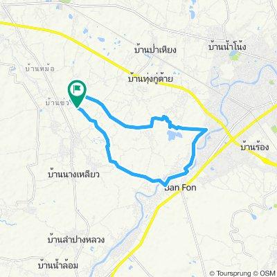 Easy ride in Tambon Pong Yang Khok