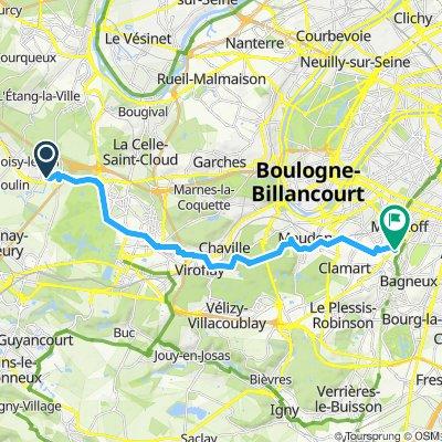 Itinéraire modéré en Châtillon