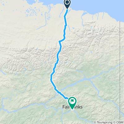 Prudhoe Bay - Faairbanks